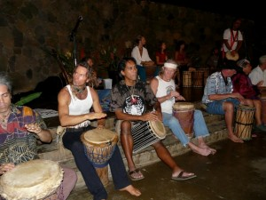 Drummers Playing