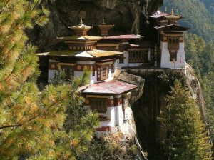 Monastery on Cliffs