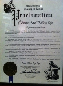 Kauai County Proclamation