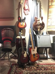 Guitars for Blue Dress