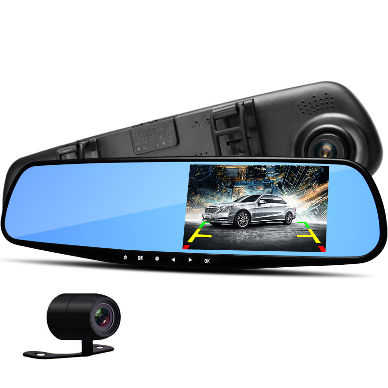 DVR Rearview Mirror TFT 4.3, DVR 4.3