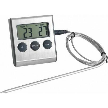 thermometre digital pour four avec sonde 25 c 250 c