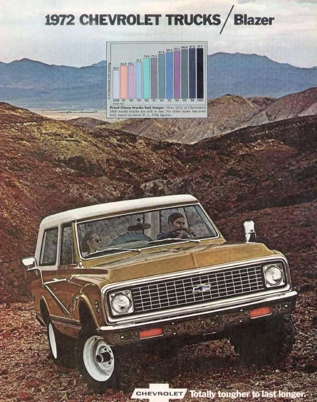 Car Brochures   1972 Chevrolet and GMC Truck Brochures   1972 Chevy     Click Image below to Enlarge