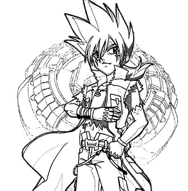 Beyblade G Revolution Coloring Pages Best Place To Color