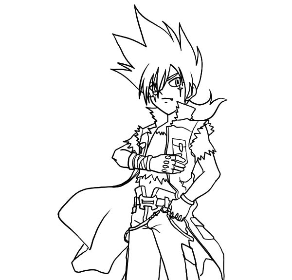 Beyblade Kyoya Beyblade Coloring Pages Best Place To Color