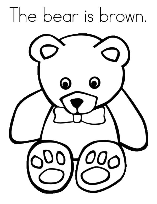 little brown bear coloring pages  best place to color