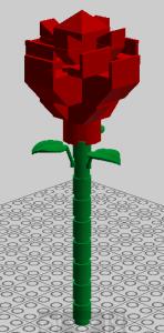 Progetto rosa di Lego di Jo