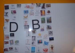 la D e la B