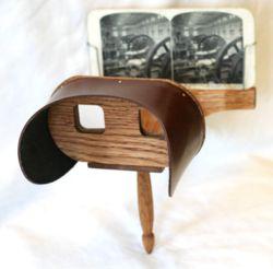 Stereoscopio di Holmes dal sito di Wikipedia