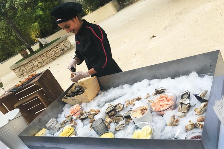 Cocktail et repas pour une soirée privée à Nîmes