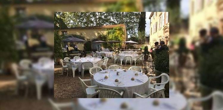 Repas et cocktail déjeunatoire au château Rieutort