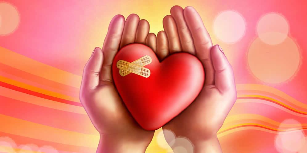 5 tips para curar un corazón herido
