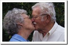 Beso de abuelos