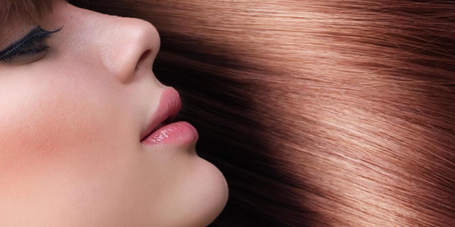 perfume y cabello