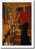 Decorando la casa para Navidad