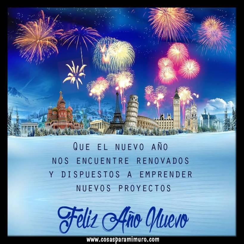 Feliz y fructífero año nuevo
