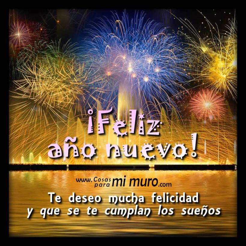 Año nuevo, sueños que serán cumplidos