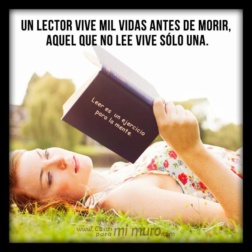 Un lector vive mil vidas antes de morir