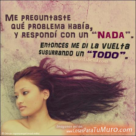 Mi problema contigo
