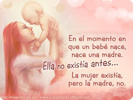 Nace el bebé, nace la madre