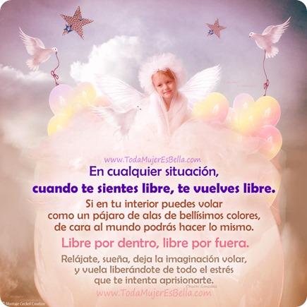 Sentirte libre para ser libre