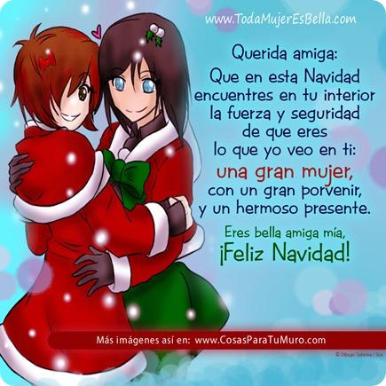 Querida amiga, es Navidad...