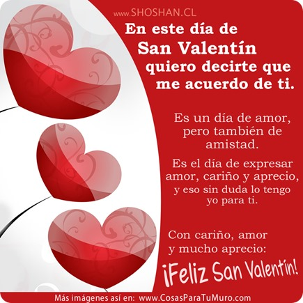 Reflexión de San Valentín