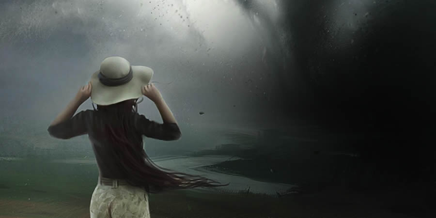 Aunque enfrentes la tormenta en tu vida, ¡no te rindas!