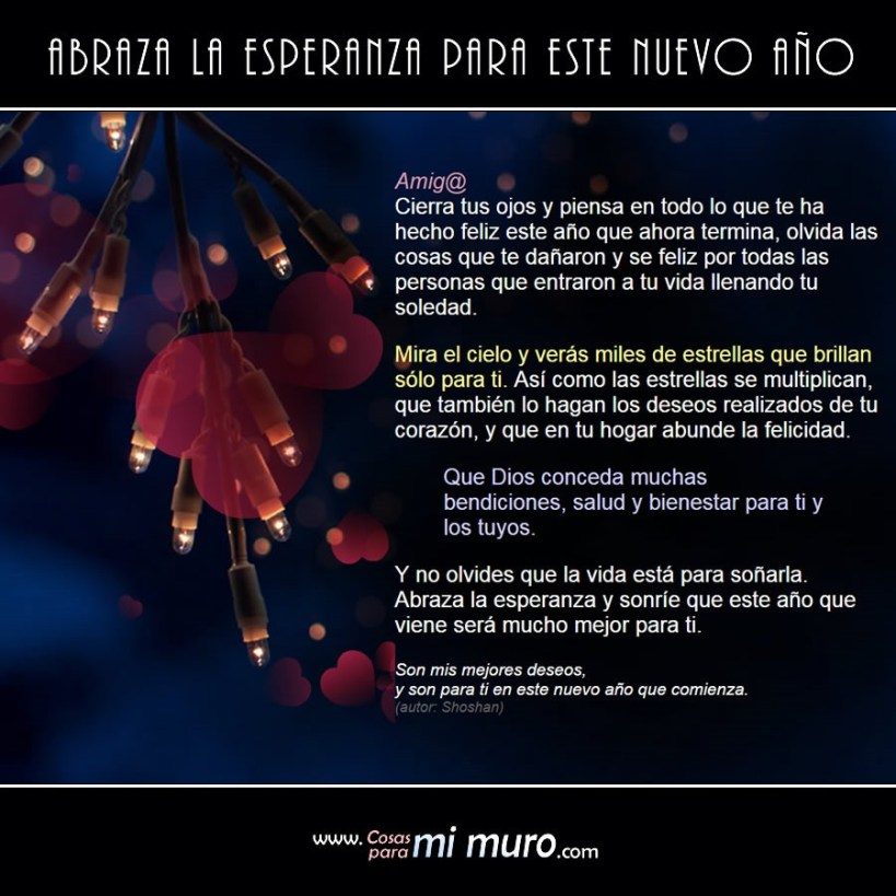 Reflexiones Propósitos Y Esperanzas De Año Nuevo