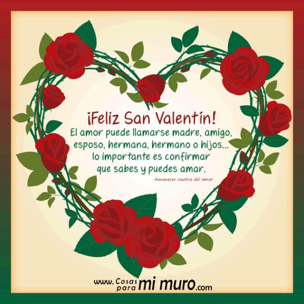 El amor, esencia de San Valentín