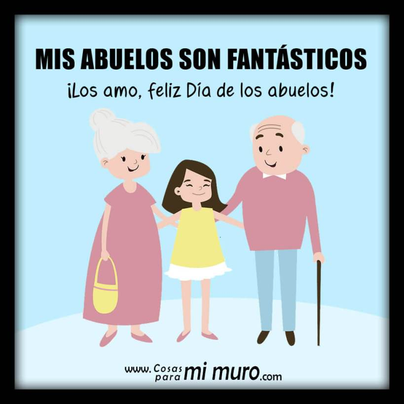 Feliz día de los abuelos fantásticos