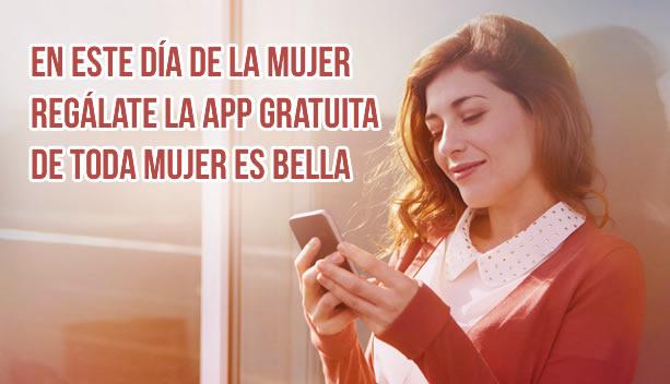App de imágenes de Toda Mujer es Bella