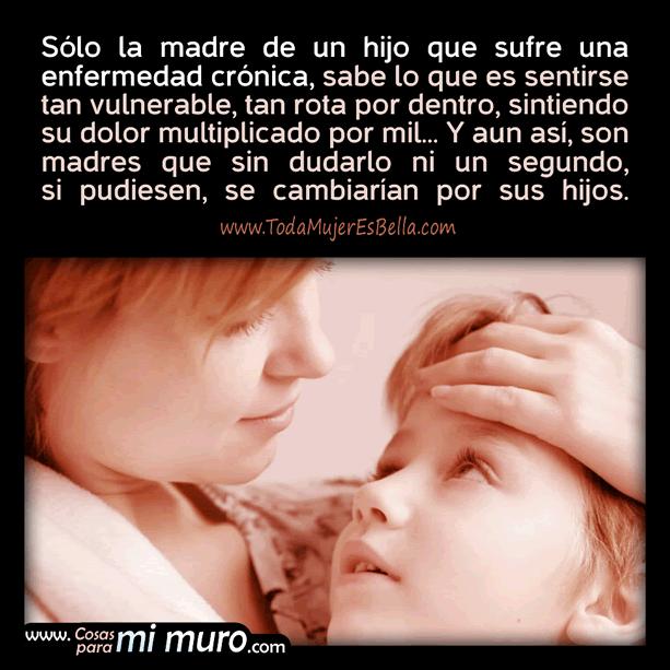 Amor de madres de hijos con enfermedad crónica