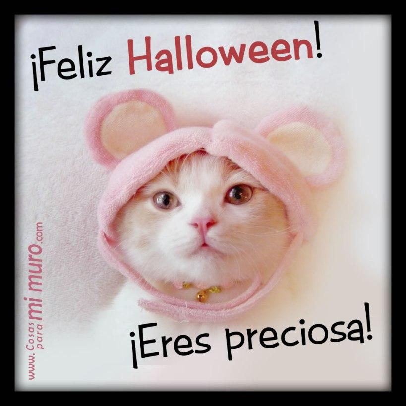 Feliz Halloween, eres preciosa