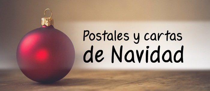 Postales y cartas de Navidad