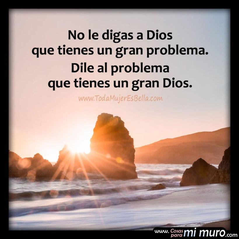 Dios es más fuerte que tu problema