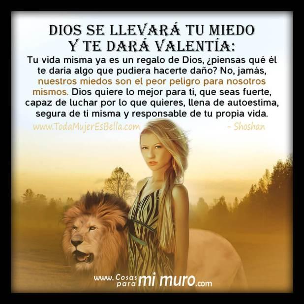 Dios se llevará tu miedo