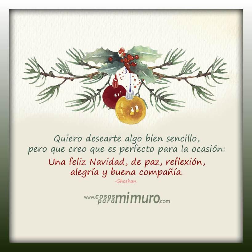 Un sencillo deseo navideño
