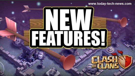 clash of clans features