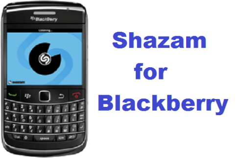 Shazam for Blackberry