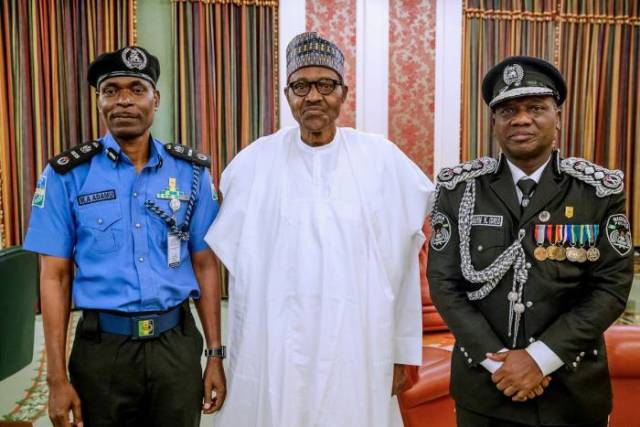 President Muhammadu Buhari has appointed a new Inspector General of Police, Mr. Mohammad Abubakar Adamu-1