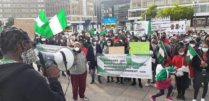 10. Hundreds of Nigerians in Berlin, Germany, and London, the United Kingdom protested against police brutality, extrajudicial killing, and bad governance in their home country.