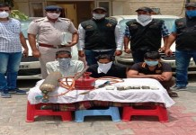ATM machine cut from gas cutter, 3 lakh 3 thousand rupees recovered from 3 accused arrested for stealing money