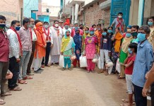 More than two dozen youths joined as part of membership drive by AKHIL BHARTIY Hindu Mahasabha