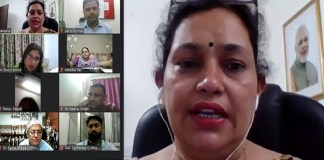 National webinar organized at DAV Shatabdi College, Faridabad on women empowerment and gender sensitization