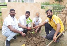 11 peepal plants planted on the joy of building Ram temple - Jaswant Pawar