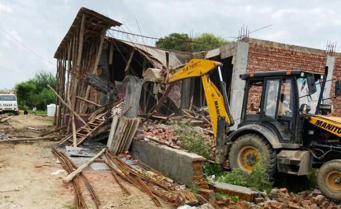 Continuing sabotage continues in illegal colonies from Town and Country Planning Department Naresh Kumar