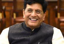 Union Ministers Piyush Goyal