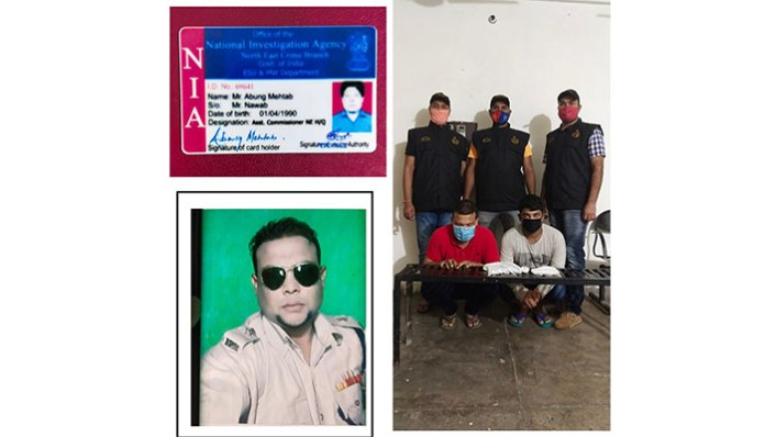 Claims of an officer named NIA officer of Crime Branch