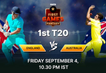 England vs Australia Paytm First Games Fantasy Prediction 1st - T20